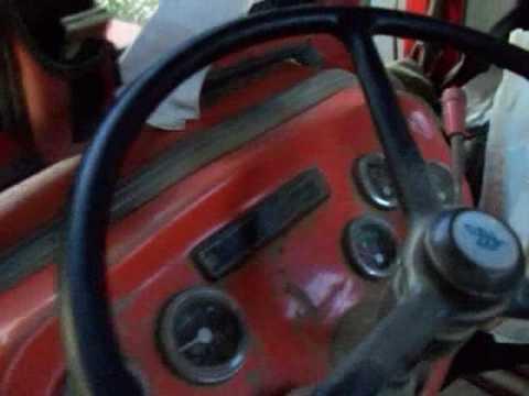 Tafe 45DI tractor walkaround - YouTube