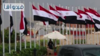 بالفيديو : شرم الشيخ تستقبل اليوم الأخير لمؤتمر الشباب بالأمطار