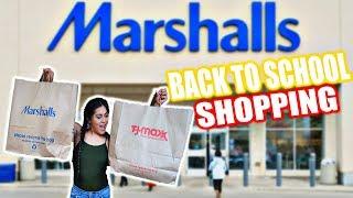 Back To SCHOOL Shopping TJMAXX AND MARSHALLS! OMG