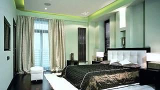 Зеленая спальня  особенности оформления спальни в зеленом цвете