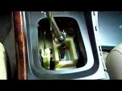 1997 Acura Tl >> snapped shifter cable - YouTube