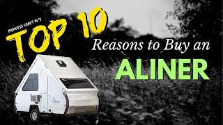 Top 10 Reasons to Buy an Aliner Folding A-Frame Travel Trailer with Princess Craft RV