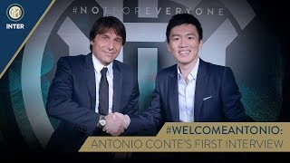 #WELCOMEANTONIO | ANTONIO CONTE and STEVEN ZHANG EXCLUSIVE INTERVIEW with INTER TV [SUB ENG + ITA]