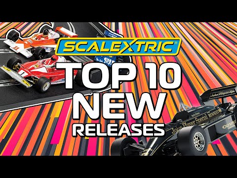 SCALEXTRIC | TOP 10 NEW RELEASES
