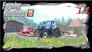 Farming Simulator 15 - vous et moi épisode 11 - carrière suivie - multijoueurs