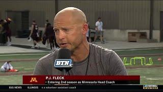 BTN Bus Tour: P.J. Fleck | Minnesota | Big Ten Football