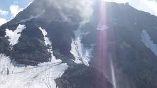 Rockfall in GRAND COULOIR - Rolling Stones - MONT BLANC