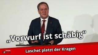 Auf SPD-Anschuldigung reagiert Laschet mit Wut-Ausbruch