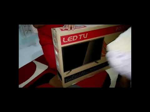"Unboxing tv LED ""POLYTRON"" 32"" seri PLD 32D1500"