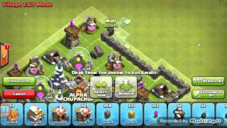 Clash of clans the best base tawn holl level 6