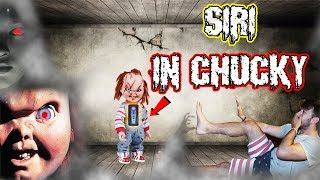 (WANNA PLAY?!) DONT PUT SIRI INSIDE CHUCKY AT 3 AM | *THIS IS WHY* (HE WAS HIDING UNDER MY BED?!)
