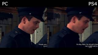 L.A. Noire - PC vs PS4 GRAPHICS COMPARISON
