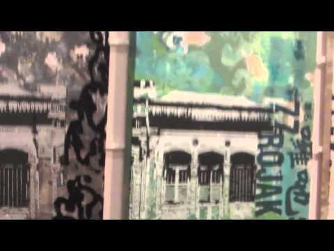 Deborah McKellar Singapore Silk Screen Exhibit South Africa 2013