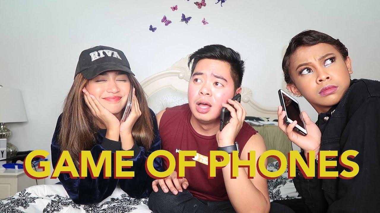 GAME OF PHONES!! (TUMAWAG NG CELEBRITY FRIEND!!)