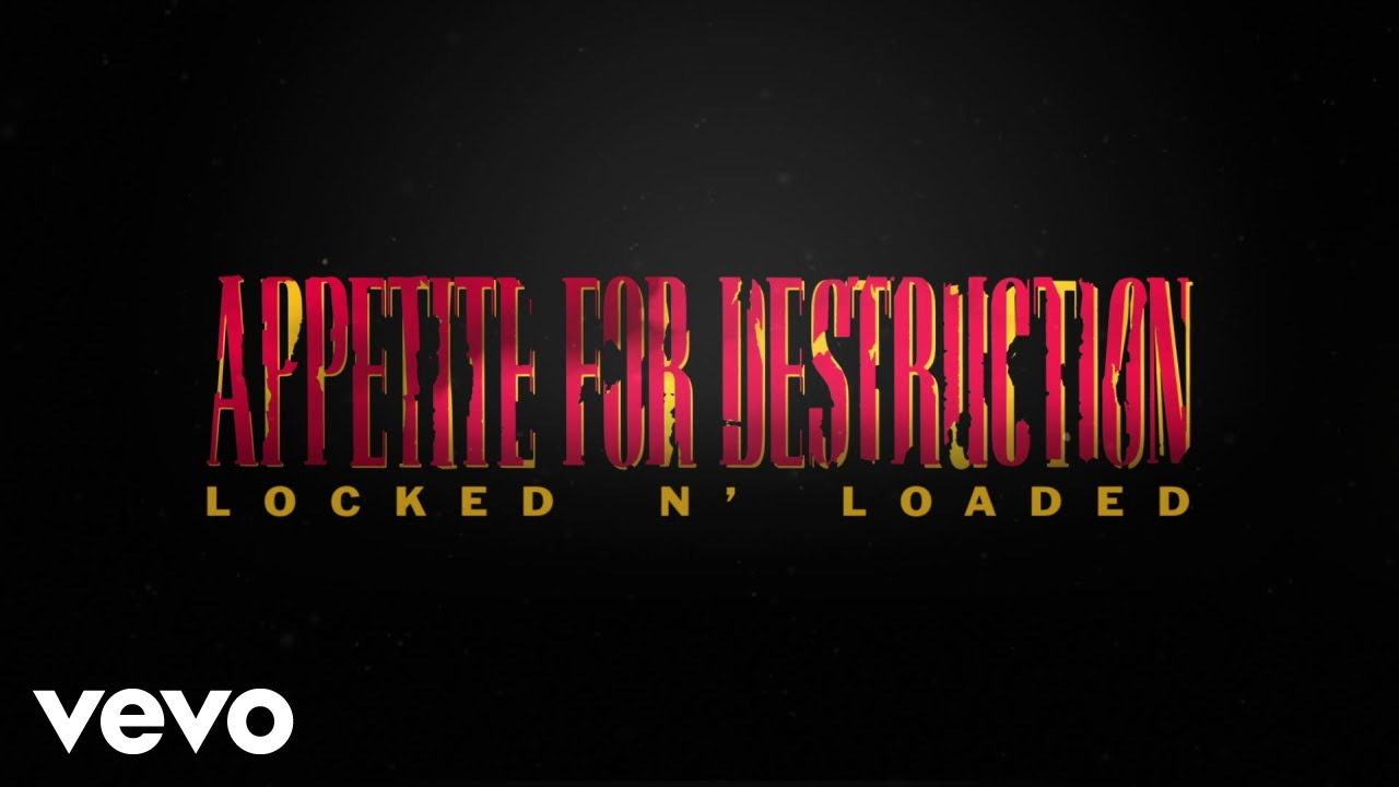 Guns N Roses Appetite For Destruction Locked & Loaded Numbered