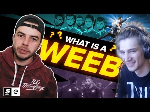 XQc Reacts To What Is A Weeb? Why Anime Is Everywhere In Esports By TheScore Esport