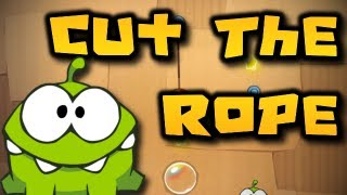 Cut the Rope w/ ChimneySwift11 & Om Nom! (HD)