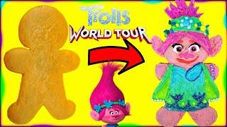 DreamWorks Trolls 2 World Tour Poppy Gingerbread Man Cookie Decoration