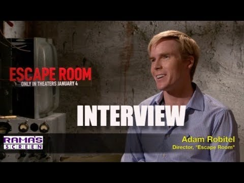 My Interview With 'ESCAPE ROOM' Movie Director, Adam Robitel