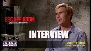 My Interview With 'ESCAPE ROOM' Movie Director, Adam Robitel