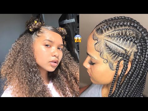 💕 Natural BACK TO SCHOOL Hair Compilation - 2019 Hairstyles 💙💙 thumbnail
