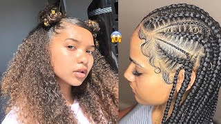 💕 Natural BACK TO SCHOOL Hair Compilation - 2019 Hairstyles 💙💙