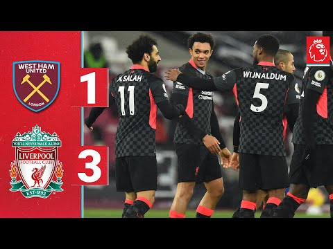 Highlights: Salah and Gini secure victory for the Reds   West Ham 1-3 Liverpool