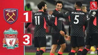 Highlights: Salah and Gini secure victory for the Reds | West Ham 1-3 Liverpool