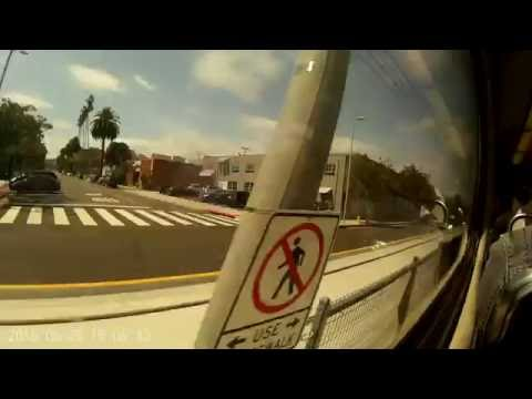 Santa Monica to Downtown LA via Brand New EXPO LINE metro 5/25/2016