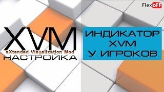 XVM - Индикатор XVM у игроков