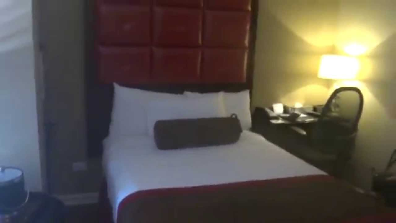 Standard Room At The Hotel Belleclaire In Nyc Youtube