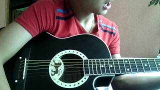 Изгиб гитары жёлтой (урок на гитаре)