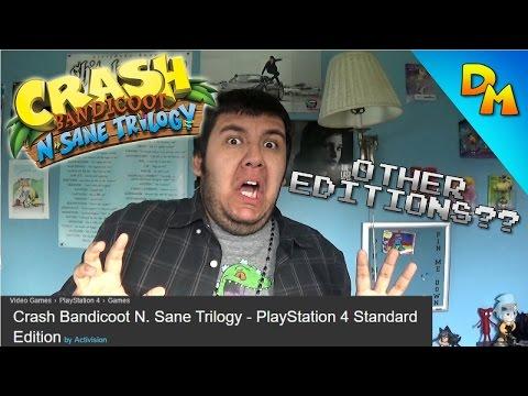 """Crash Bandicoot: N. Sane Trilogy""...Standard Edition?"