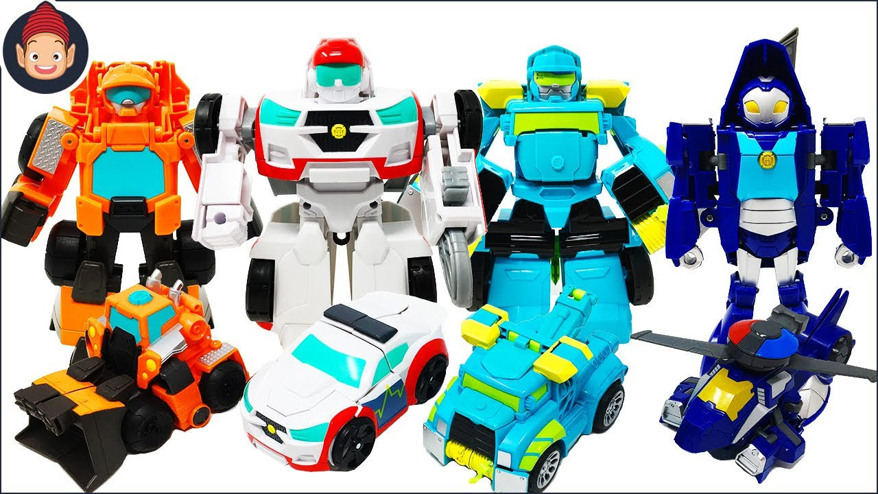 Transformers Rescue Bots Academy Toy Unboxing - Wedge ...