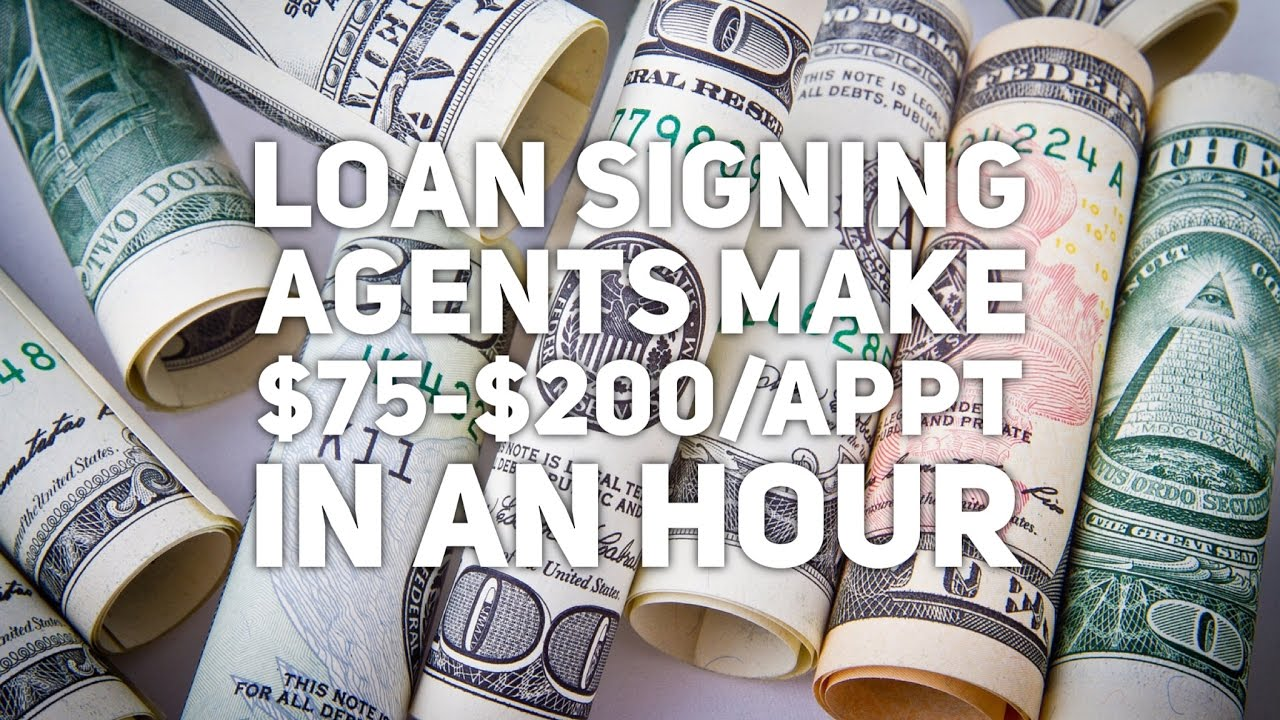 How Much Does A Notary Public Loan Signing Agent Make?