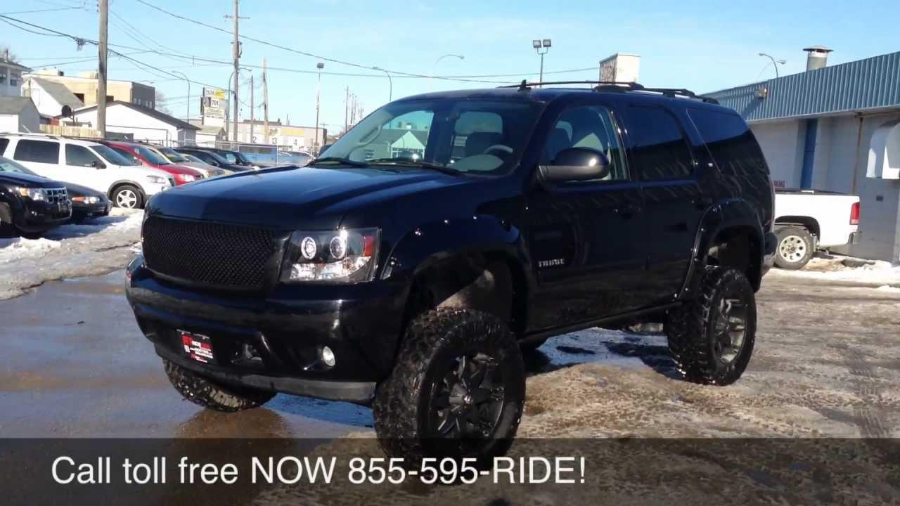 Chevy Dealership Edmonton >> Custom Lifted 2012 Chevrolet Tahoe LT - Ride Time - Winnipeg, MB