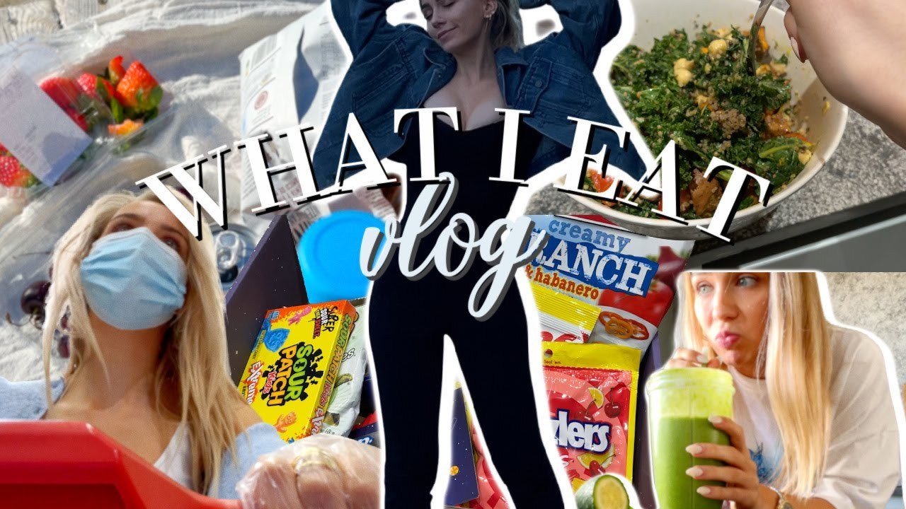 WHAT I EAT VLOG  | Lieblingsrestaurants, Snacks & Wocheneinkauf