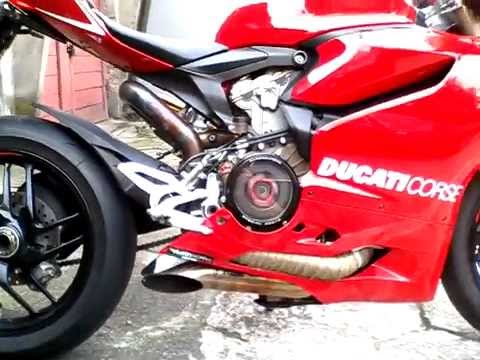 Ducati Toce Exhaust