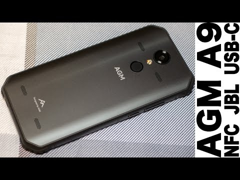 AGM A9 новейший военный бронесмартфон для гражданских! Snapdragon 450, NFC, USB-C, JBL Quadro!