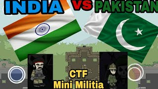 CTF INDIA vs PAKISTAN Mini Militia Match - The war has begun