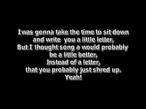 Eminem puke lyric