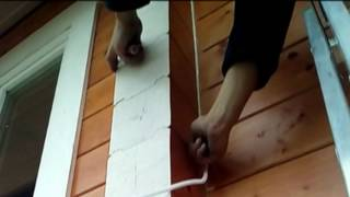 видео Соединение углов в брусовых домах