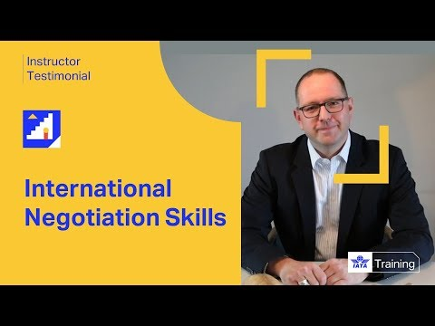 IATA Training | International Negotiation Skills | Instructor Testimonial