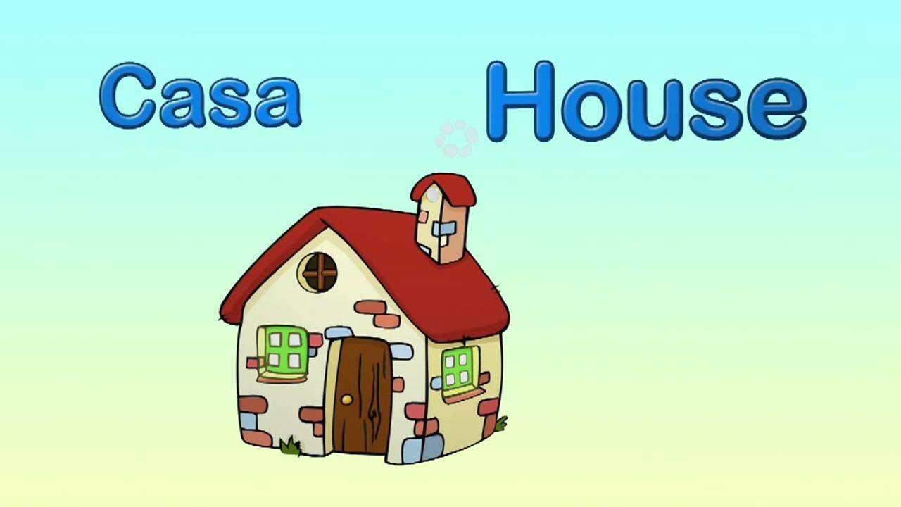 Cómo Se Dice Casa En Inglés Youtube