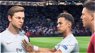Neymar Breaks Up a FIGHT! (FIFA 19 The Journey)