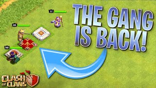 THE FAMILY'S BACK TOGETHER! Fix that Engineer ep43 | Clash of Clans