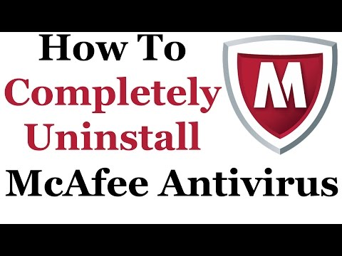 How To Uninstall McAfee Antivirus Plus From Windows 7