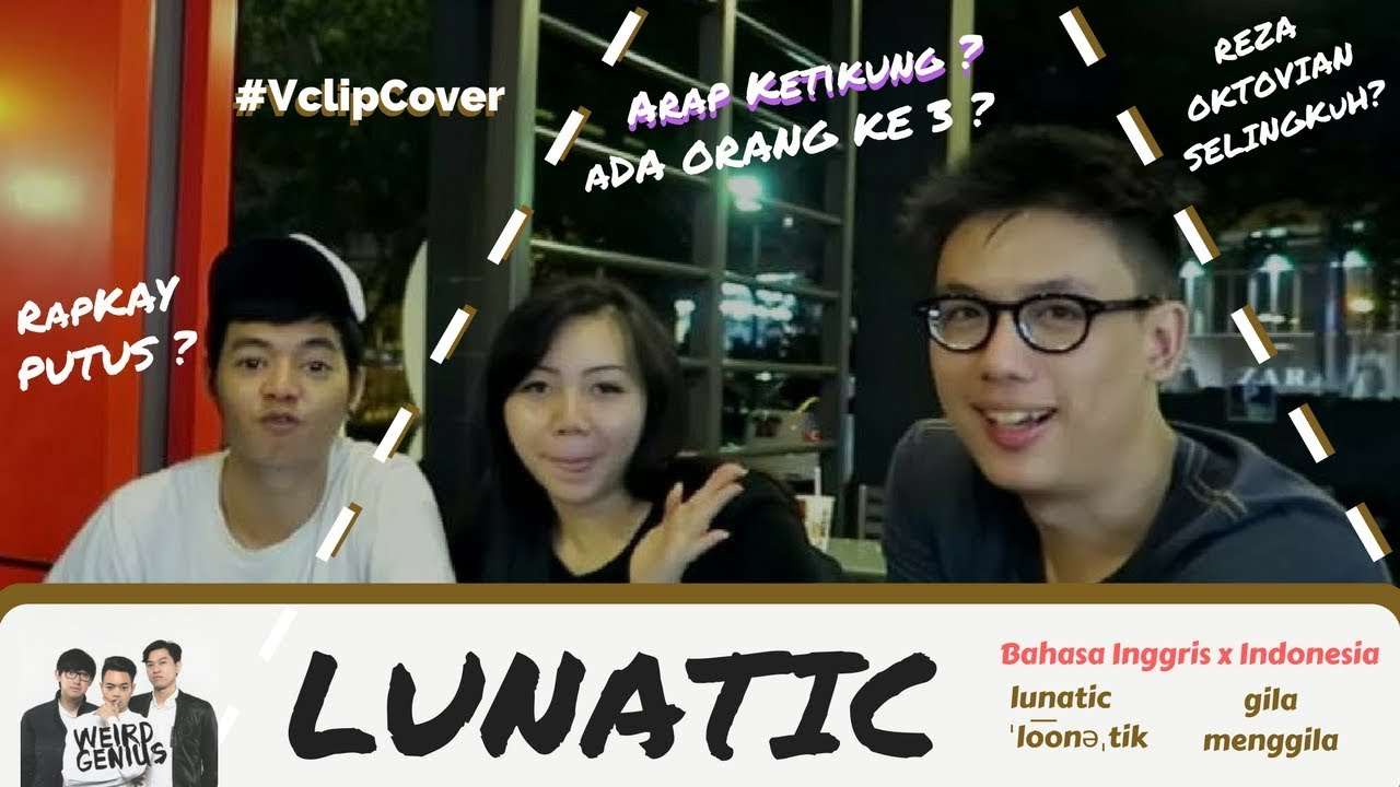 VclipCover : Weird Genius - LUNATIC ft Letty | Video Clip Cover ...