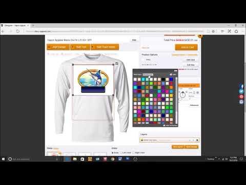 Design Your Custom Dri-fit Fishing Shirts Online At B.L. Tees
