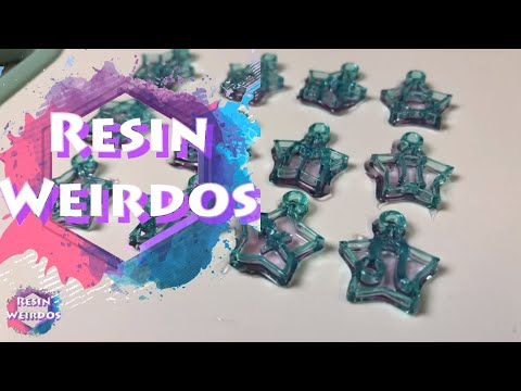 Watch Me Resin - Star sign mini resin charms - Uv Resin Ideas